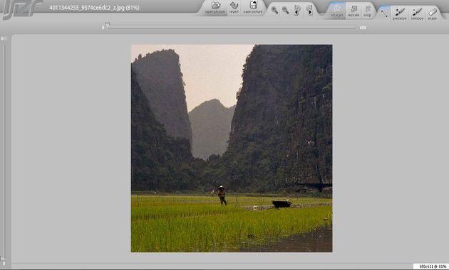Rsizr: un editor básico para tus imágenes, online, gratuito y sin registro