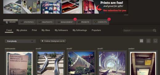 Statigram, el mejor cliente web para Instagram por goleada