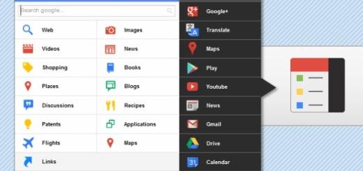 Black Menu, práctica extensión para Chrome que te acerca todos los servicios de Google