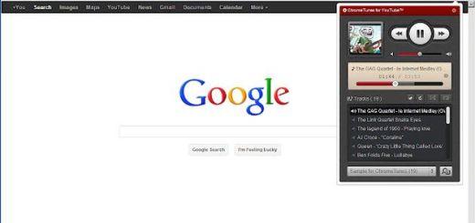 ChromeTunes, crea y escucha playlists de música online con este elegante reproductor para Chrome