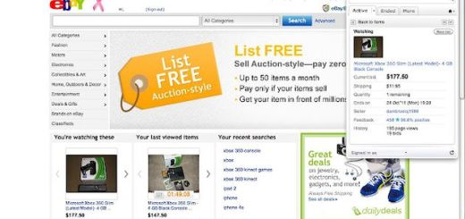 Extensión oficial de eBay para Chrome indispensable para los habituales de este portal