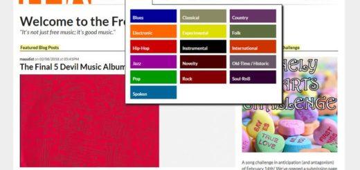 Free Music Archive: gran colección de música libre para descargar