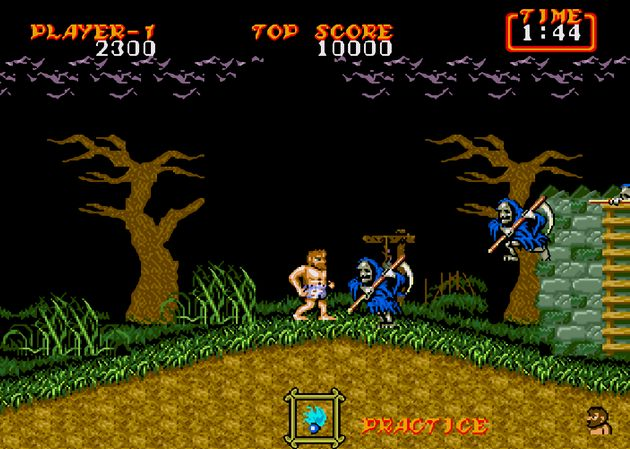 Ghosts Ghouls N La Secuela Del Clasico Arcade Ghosts N Goblins Para