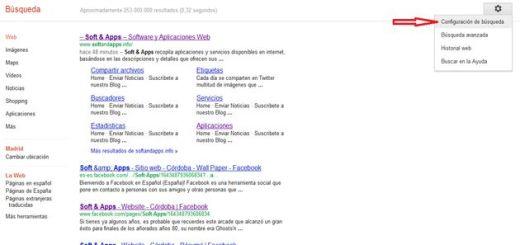 Configura Google para que los resultados se abran en una nueva pestaña
