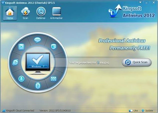 Kingsoft Antivirus 2012, un antivirus gratis para tu PC