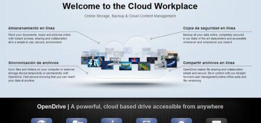 OpenDrive, 5 Gb gratuitos de almacenamiento online y apps para sincronizar todos tus dispositivos