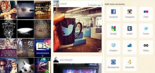 Pictarine lleva a tu Android las fotos de tus redes sociales favoritas