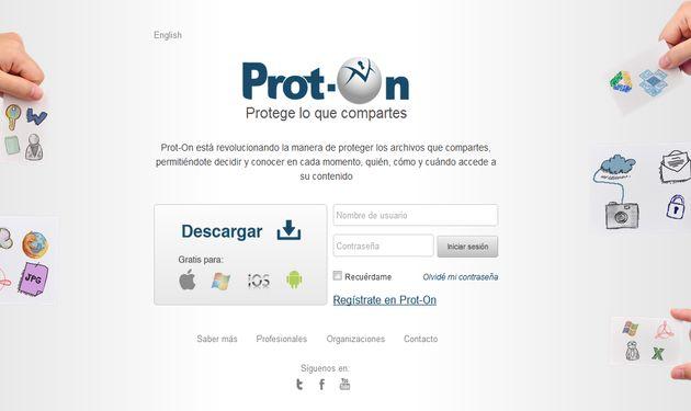 Prot-On, solución gratuita para asumir el control de los accesos a las fotos y documentos que compartes