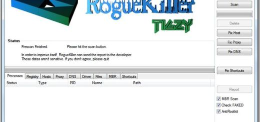 RogueKiller, aplicación gratuita para acabar con los falsos antivirus