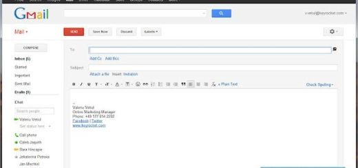 Shorcuts for Gmail