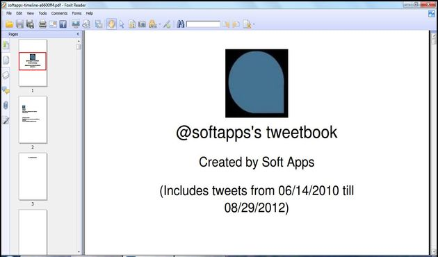 Tweetbook, crea un eBook en PDF con tus tweets en Twitter