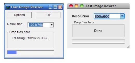 Fast Image Resizer, herramienta gratuita para redimensionar tus imágenes por lotes