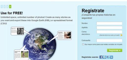 MyHistro, utilidad gratuita para crear líneas de tiempo interactivas sobre mapas de Google