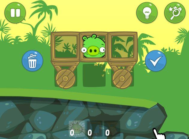 Bad Piggies disponible el nuevo juego de los creadores de Angry