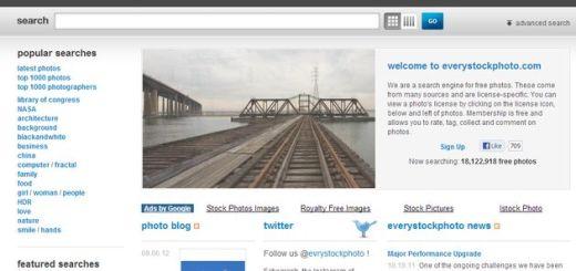 EveryStockPhoto, un buscador con millones de imágenes gratuitas