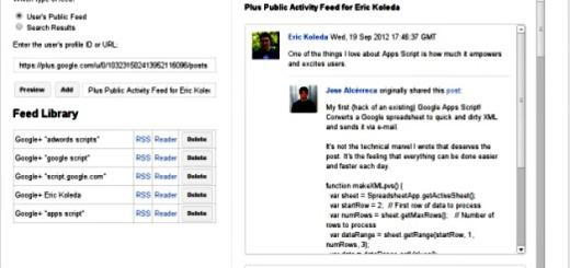 Feed+, genera feeds RSS con las publicaciones de cualquier usuario de Google+ (Chrome)