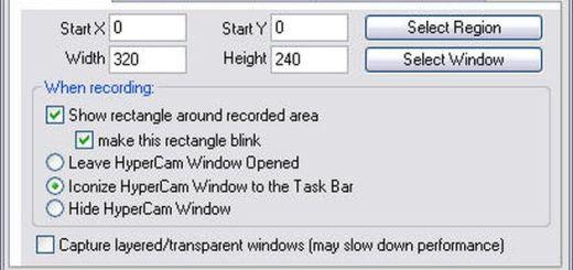 HyperCam, software gratis para grabar screencasts de nuestra actividad en pantalla