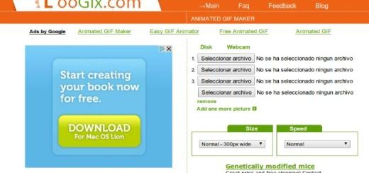 LooGix, herramienta web gratuita para crear gif animados en pocos pasos