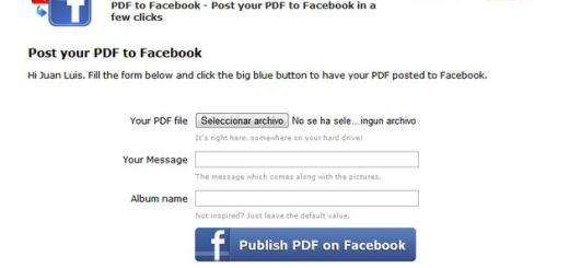 Pdf2Social, práctico servicio para publicar documentos PDF en Facebook