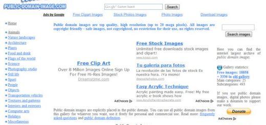 Public Domain Images, más de 22000 imágenes de dominio público para tus proyectos