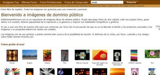 PublicDomainPictures, repositorio con más de 23.000 imágenes libres para uso personal y comercial