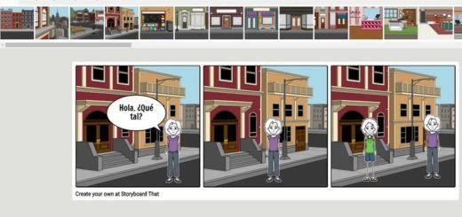 Storyboard Creator: una aplicación web para crear tiras cómicas