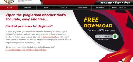 Viper, software gratuito para detectar los plagios de documentos
