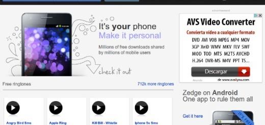 Zedge: más de siete millones y medio de tonos, fondos y temas gratis para tu móvil