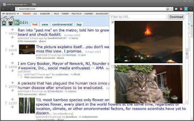 Image Downloader: descarga todas las fotos de una página, o sólo las que señales, con esta extensión Chrome