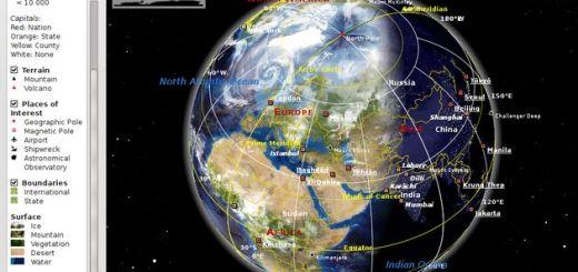 Marble, un atlas virtual educativo y open source que nos recuerda a Google Earth