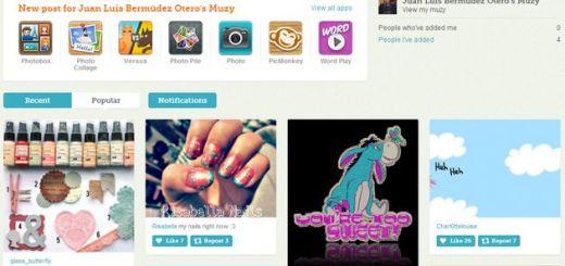 Muzy, una red social al estilo Pinterest que te permite crear tus propias imágenes