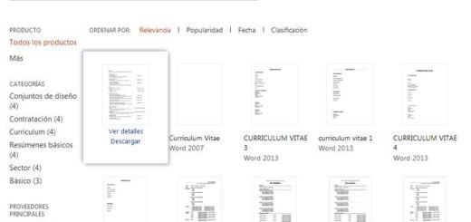 Plantillas gratuitas de CV para editar en Word