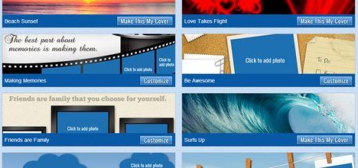 Una docena de sitios para descargar portadas o imágenes para compartir en Facebook