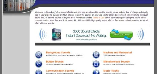 SoundJay, una práctica colección de efectos de sonido para emplear en tus proyectos