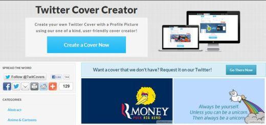 Twitcover, descarga cientos de portadas para Twitter o créalas tu mismo