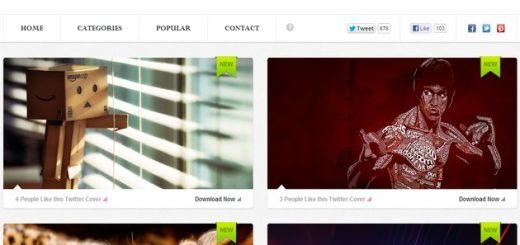 TwitrCovers, descarga cientos de imágenes optimizadas para la cabecera de Twitter