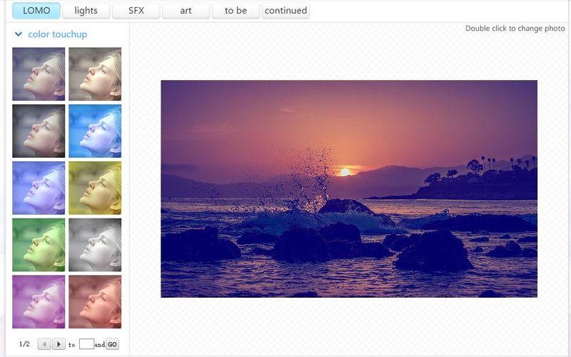 AdornPic gran colección de filtros AdornPic: 6 herramientas web para editar y decorar tus fotos