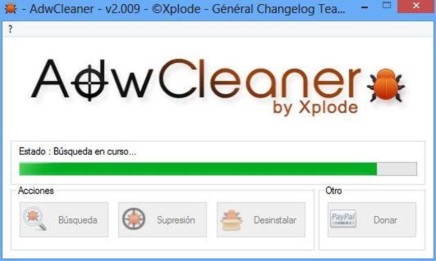 AdwCleaner AdwCleaner: aplicación gratuita portable para limpiar tu PC de adware, malware y otros bichos