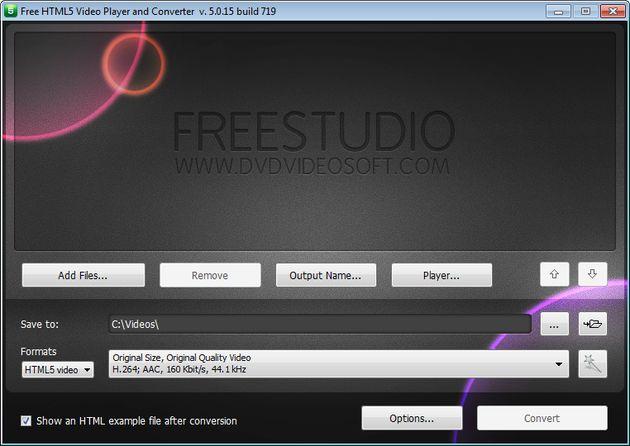 Free HTML5 Video Player and Converter, convierte tus vídeos a HTML5 e insértalos en tu web o blog