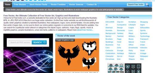 Freevector, enorme colección con miles de gráficos vectoriales gratuitos