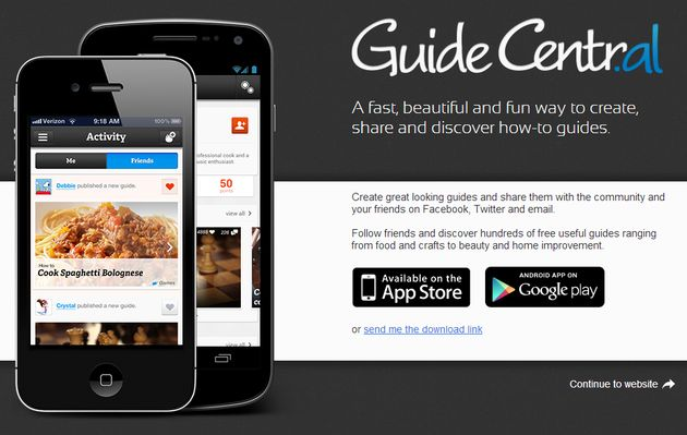 Guide Central Guide Central, extraordinaria red social para crear y compartir tutoriales How to