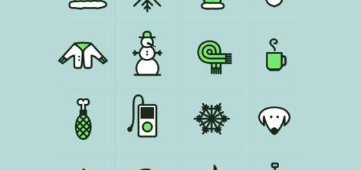 16 bonitos iconos invernales para usar libremente en cualquier proyecto