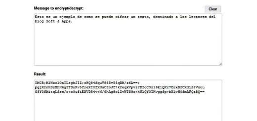ImmediateCrypt, cifra tus textos desde la web o con una aplicación multiplataforma gratuita