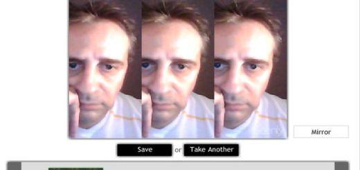 Seenly, tómate una foto con tu webcam, aplícale un original efecto y compártela