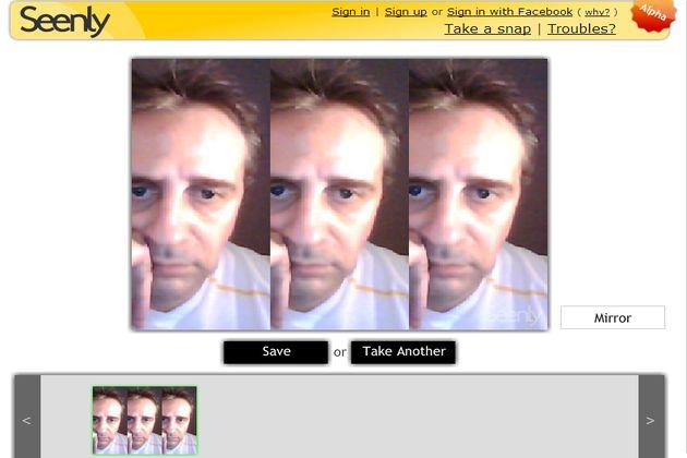 Tomate una foto con tu camera webcam