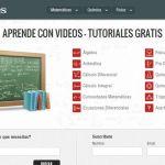 TareasPlus: una gran colección de vídeos en español para aprender matemáticas, física y química