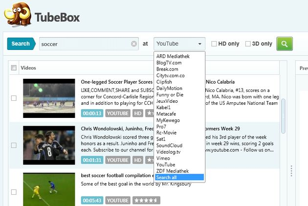 TubeBox TubeBox, software gratuito para descargar vídeo y audio de múltiples sitios