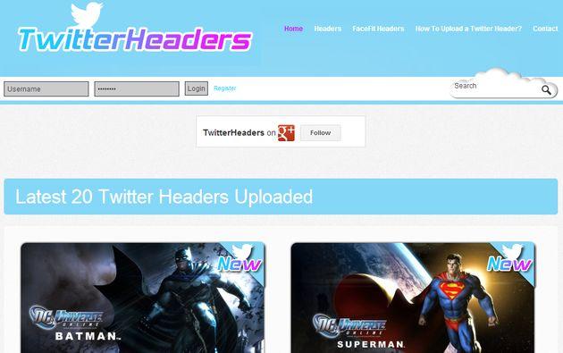 TwitterHeaders, gran colección de bonitas imágenes para la portada de Twitter