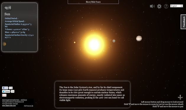 Virtual Solar System - Pics about space