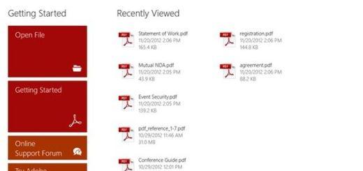 Adobe Reader ya disponible para Windows 8